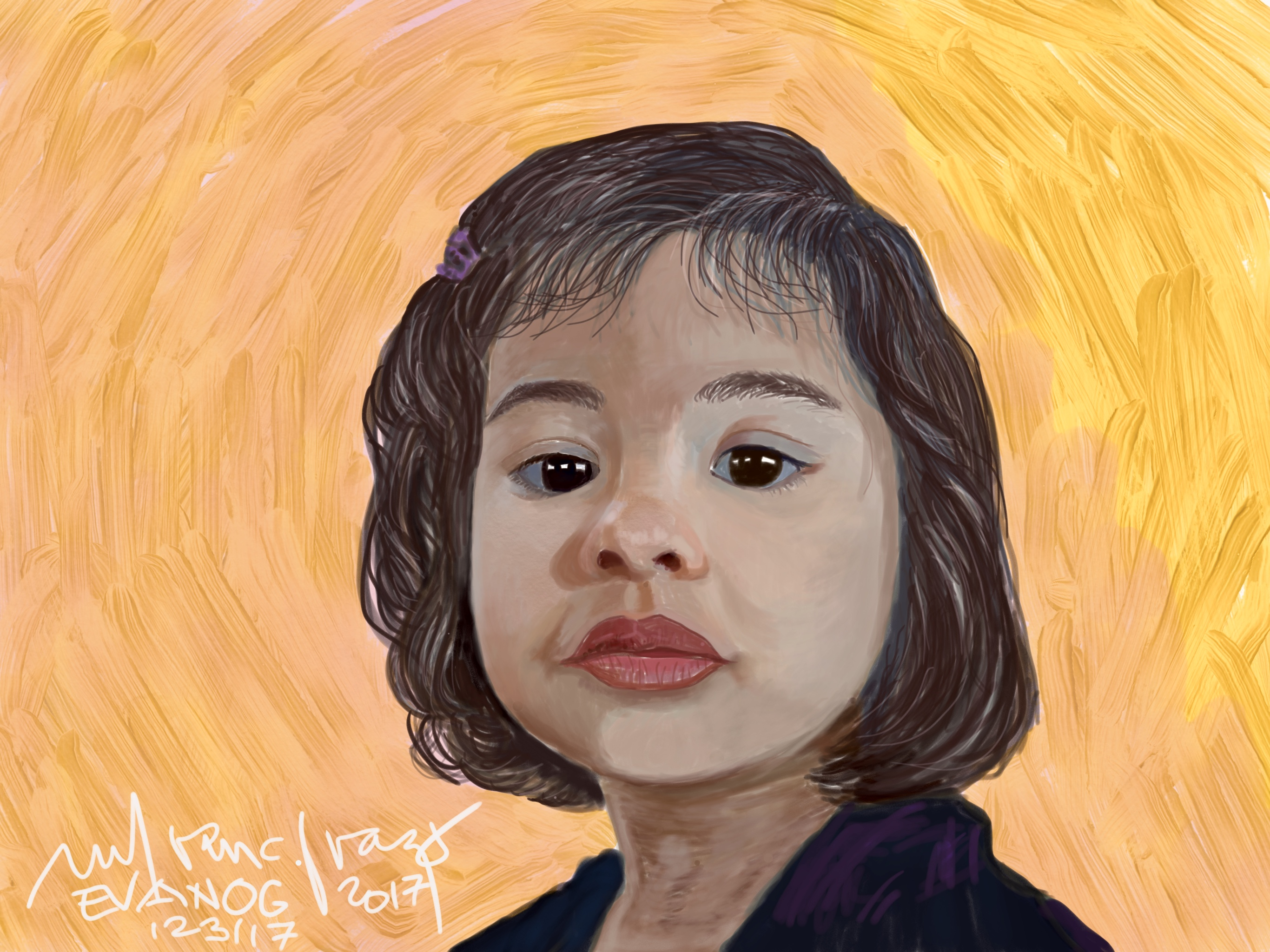 Digital Portrait 1